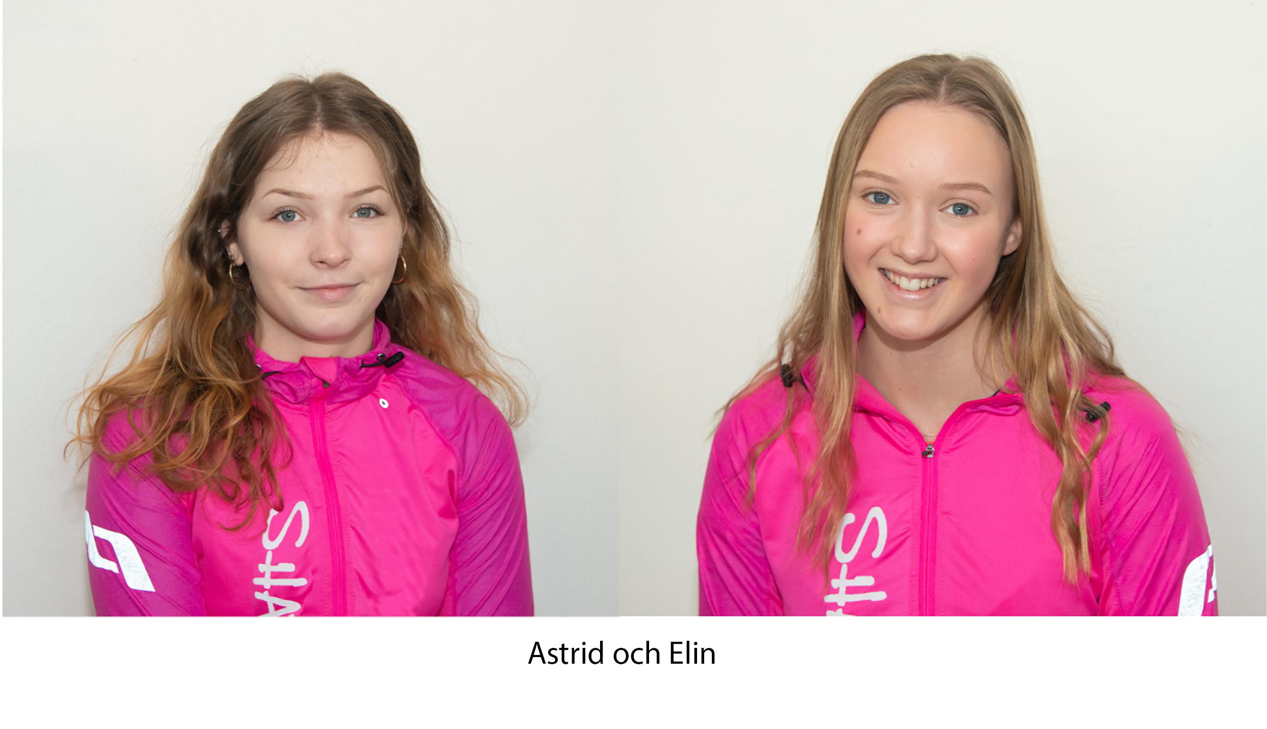 Kontakta Shape Up - Astrid och Elin